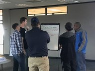Advanced Line Service workshop attendees strategize on risk mitigations for Human Factors that affect aviation ground handling.